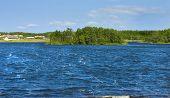 Holly Lake On Big Solovki Island