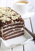 Chocolate Layered Cake,