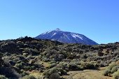 Mountain Teide in Tenerife, Canary Islands, Spain