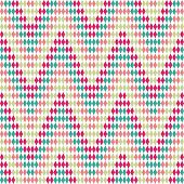 Abstract zigzag pattern. Seamless vector.