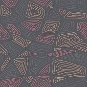 Abstract Hand-drawn Ornamental Pattern. Stylized Seamless texture