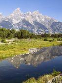 Teton Snake River Reflection