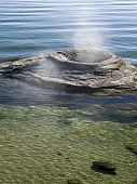 Fishing Cone, Yellowstone Lake, Wyoming