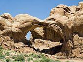 Double Arch, Arches National Park, Utah