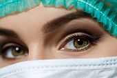 picture of surgeons  - Female doctor - JPG