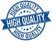 pic of high-quality  - high quality grunge retro blue isolated ribbon stamp - JPG