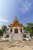 pic of worship  - place of worship with sky background at Wat NaTangNok - JPG