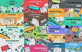 picture of strategy  - MEGA PACK of Flat Style Design Concepts for business strategy and career - JPG