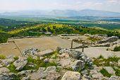 Ruin Of An Ancient Hilltop Royal Palace