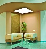 image of anteroom  - close up of the modern anteroom interior - JPG