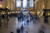 pic of amtrak  - grandcentralstation in byc during holidays in the us - JPG
