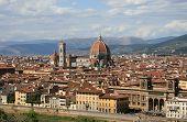 Florence Tuscany Italy Duomo view