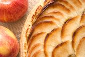 Apple Tart Abstract