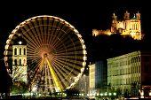 Big Wheel In Lyon (France)