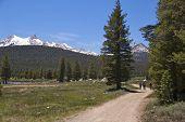 Hikers on Soda Springs Trail, Yosemite