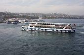 Seabus Crossing The Bosphorus