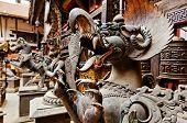 Fearful Monster Statue, Kathmandu, Nepal