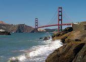 Golden Gate Bridge From Baker's Beach