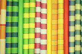 Vivid Fabric Samples