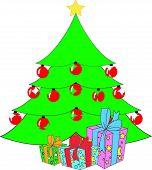Christmas Tree - Vector