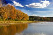Outono no Lago Deer