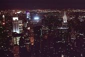 Stock Photo Of Manhattan From Top Of Empire State Building, Nort
