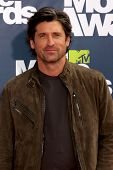 LOS ANGELES - JUNE 5: Patrick Dempsey arrives at the the 2011 MTV Movie Awards at Gibson Ampitheatre