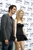 LOS ANGELES - JUN 4:  Jason Silva, Heather Graham arriving at 'Judy Moody And The NOT Bummer Summer'