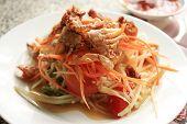 thai crispy crab spicy salad poster