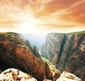 Black Canyon de Gunnison National Park paisagens