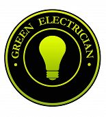 Green Electrician Symbol