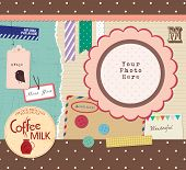 A Lot of Beautiful Scrapbook Elements
