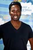 SANTA MONICA - MAR 14: Harold Perrineau at the Kevin + Steffiana James + Make-A-Wish Foundation Host