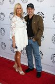 LOS ANGELES - JUN 7:  Catherine Hickland, Todd Fisher arrive at the Debbie Reynolds Collection Aucti