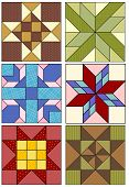 Traditional quilting patterns