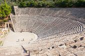 Epidaurus Ancient Theatre, Greece poster
