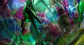 Colorful Abstract Glass Design