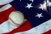 Baseball And Stars