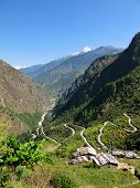 Road From Kathmandu to Dhunche