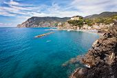 Panoramic View Of Mediterranean Sea