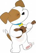 Cute Puppy Ukulele