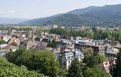Freiburg Im Breisgau At Summer Time