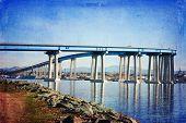 Famous Coronado Bridge in San Diego