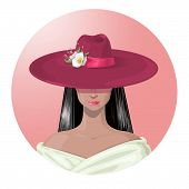 Lady In The Hat