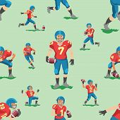 Soccer Vector Footballer Teamleader Captain Or Soccerplayer Character In Sportswear Playing With Soc poster