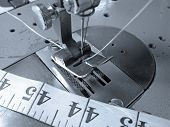 Sewing Machine Close Up