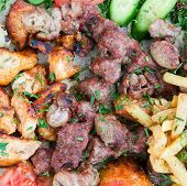 Mix Arabic Kebabs