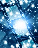 Glowing Filmstrip