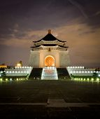 Cheng Kai Shek Memorial Hall By Night