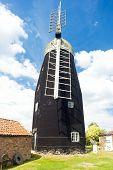 Downfield Windmill, East Anglia, England